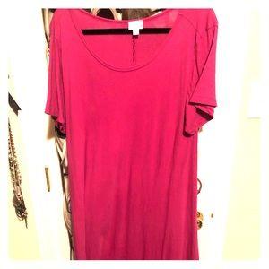 Large Fuscia Carly dress